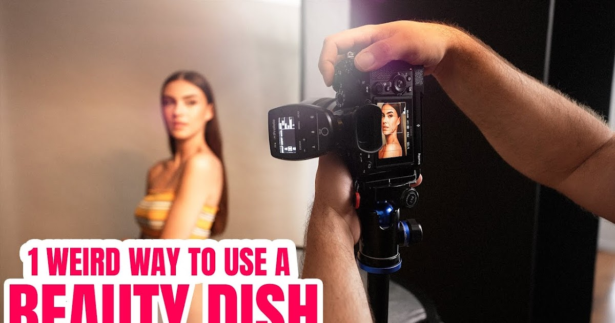 One WEIRD Way To Use A Beauty Dish For Portraits