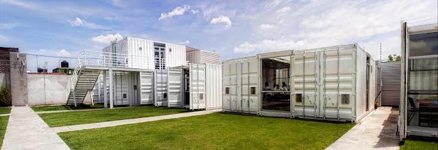 La Secundaria Valladolid - Modular Shipping Container School, Mexico 6