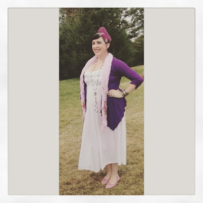 Bridget Eileen Plus Size Pin Up Being a Roaring Twenties Girl
