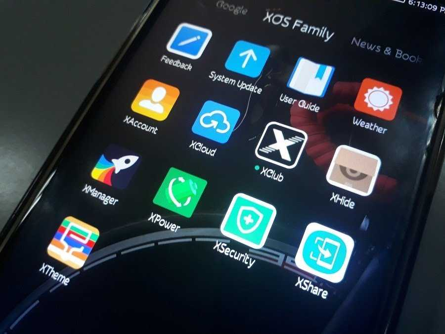 XAccount on infinix phones.