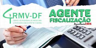 Apostila CRMV DF 2017 – Agente de Fiscalização PDF e Impressa