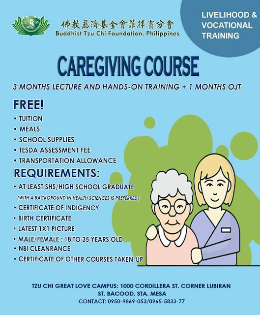 Caregiving NC II + OJT | Free Livelihood a& Local Training
