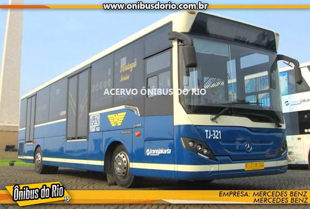Mercedes-Benz do Brasil aumenta em 40% as exportações de ônibus para a Indonésia