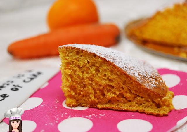 Torta alle carote ed arance