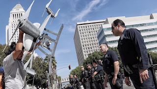 Police Commission approves controversial year-long test of drones by LAPD