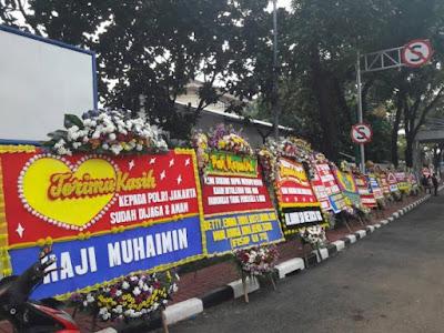 Terungkap! Sinar Mas Diduga Pengirim 110 Karangan Bunga ke Mabes Polri
