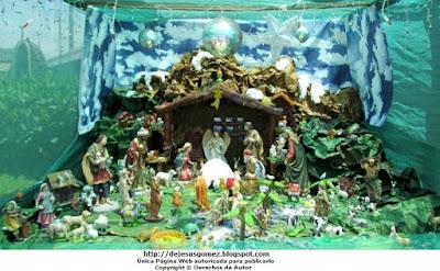 Foto al Nacimiento de Jesús del Hospital Negreiros de día por Jesus Gómez