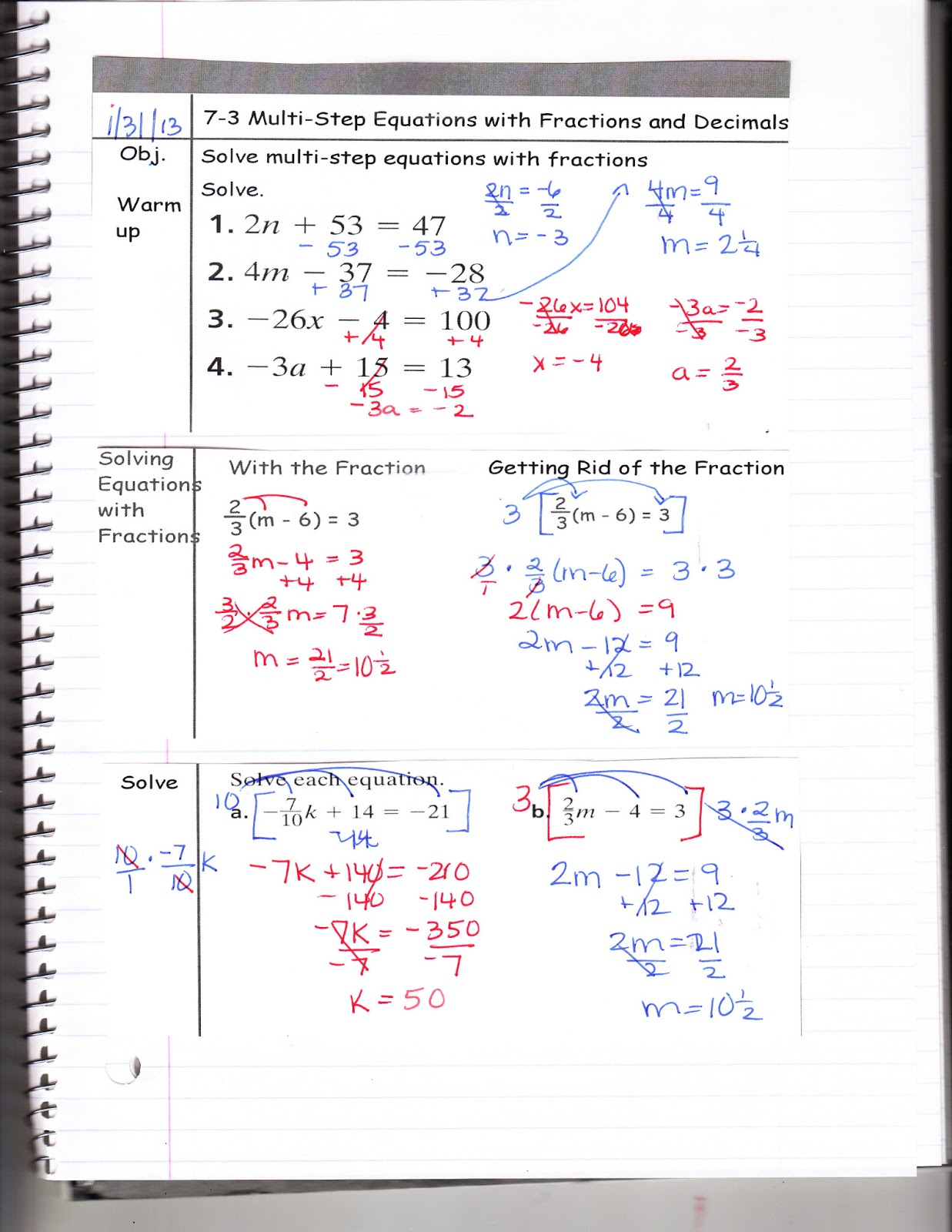 Ms Jean S Classroom Blog 7 3 Solving Multi Step