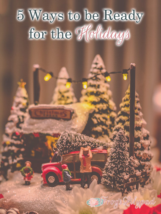 5 Ways to be Ready for the Holidays