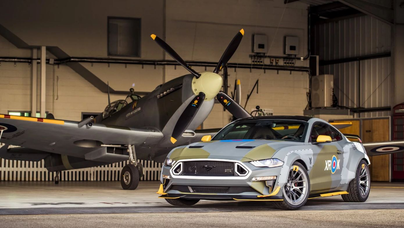 Just A Car Guy: the 2018 Ford Eagle Squadron Mustang GT