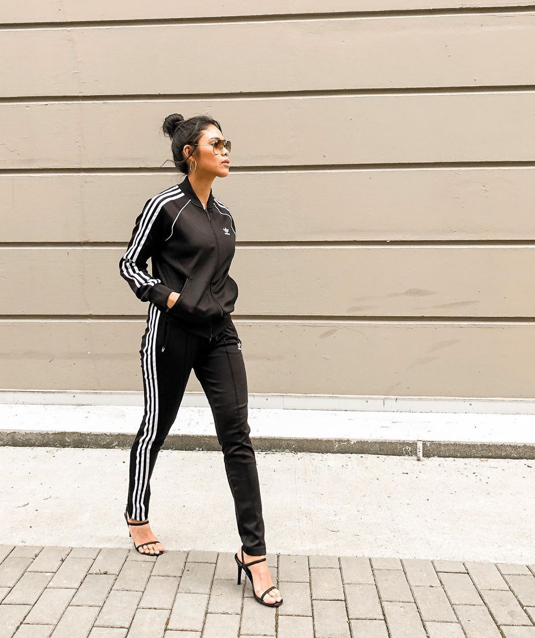 How to Elevate a Basic Track Suit