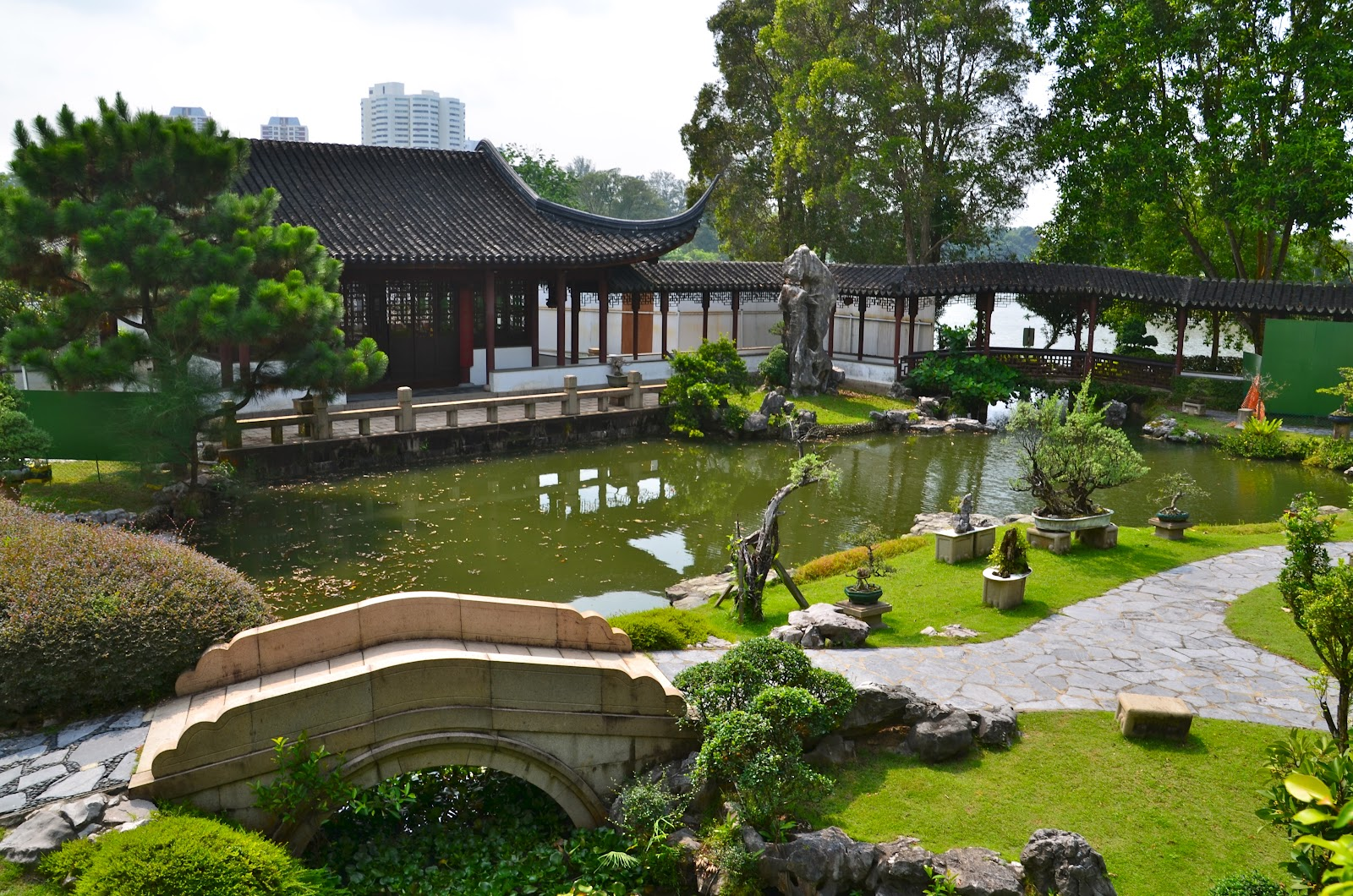 Chinese and Japanese Gardens Singapore Location Map ...