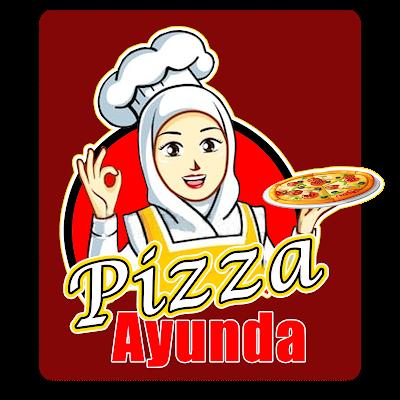 Contoh Logo Pizza Ayunda