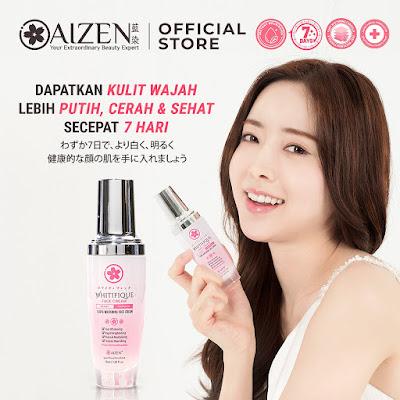 Aizen Whitifique Face Cream Pencerah Wajah