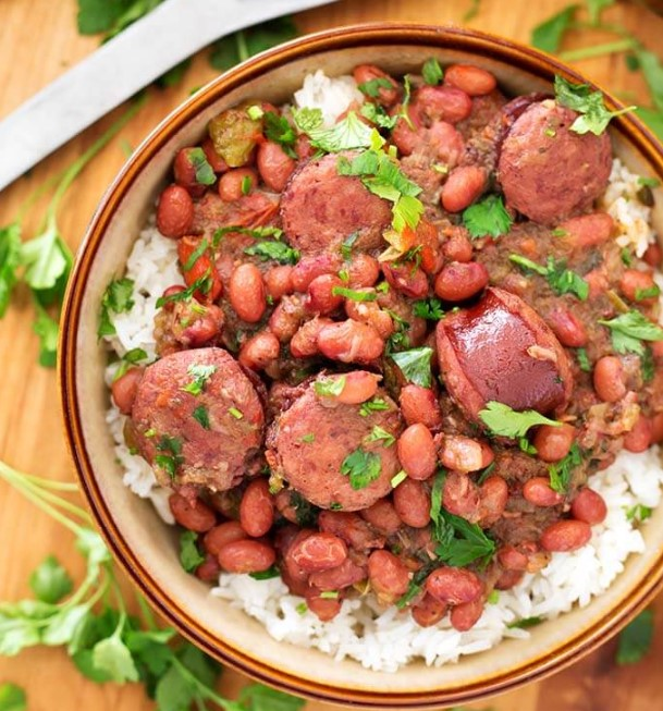 Instant Pot Red Beans And Rice With Sausage