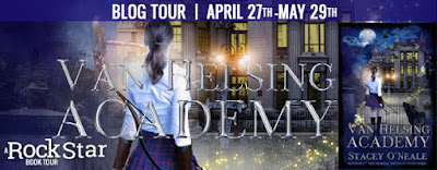 Blog Tour & Review: Van Helsing Academy by Stacey O'Neale