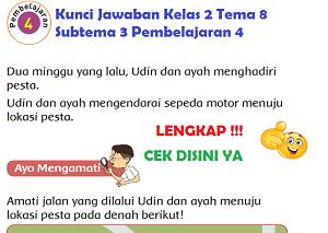 Kunci Jawaban Kelas 2 Tema 8 Subtema 3 Pembelajaran 4 www.simplenews.me