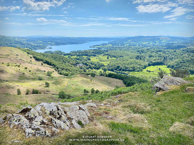 Loughrigg Fell Langdale Windermere Ambleside Walk map route Grasmere Lake District lakes