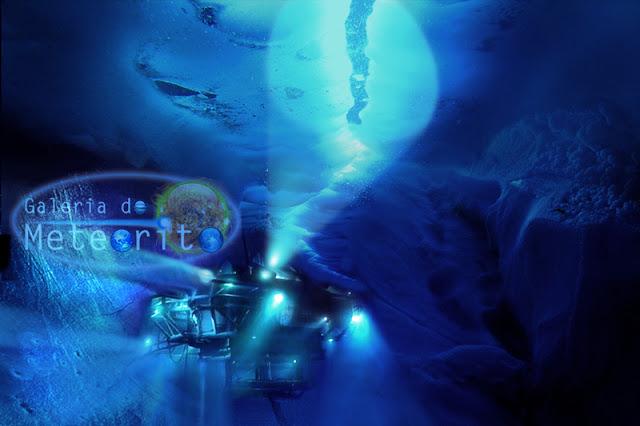 oceano escondido de Plutão