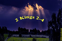 Elijah Chariot to Heaven - 2 Kings 2-4, story of Elijah summary