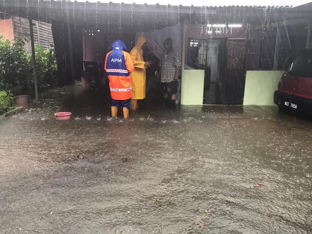 banjir kilat Muar Dan Tangkak, Johor