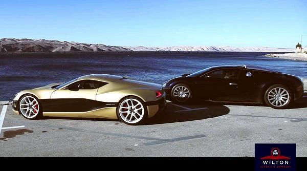 Rimac Concept_One y Bugatti Veyron