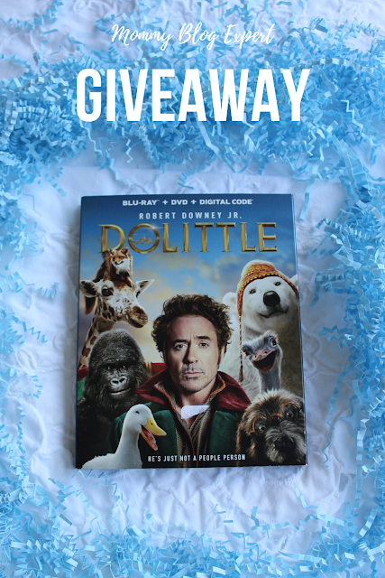 Dolittle Movie Sweepstakes