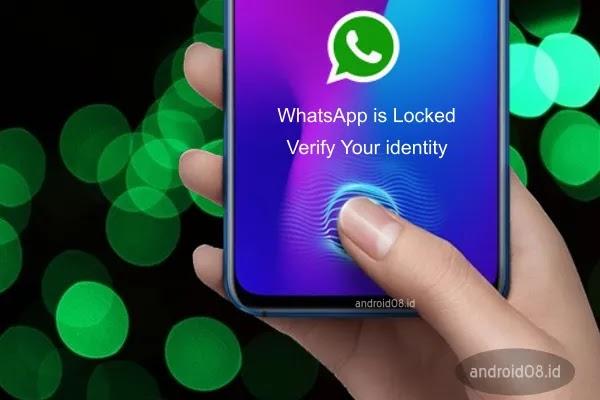 Fitur Sidik Jari WhatsApp Unlock