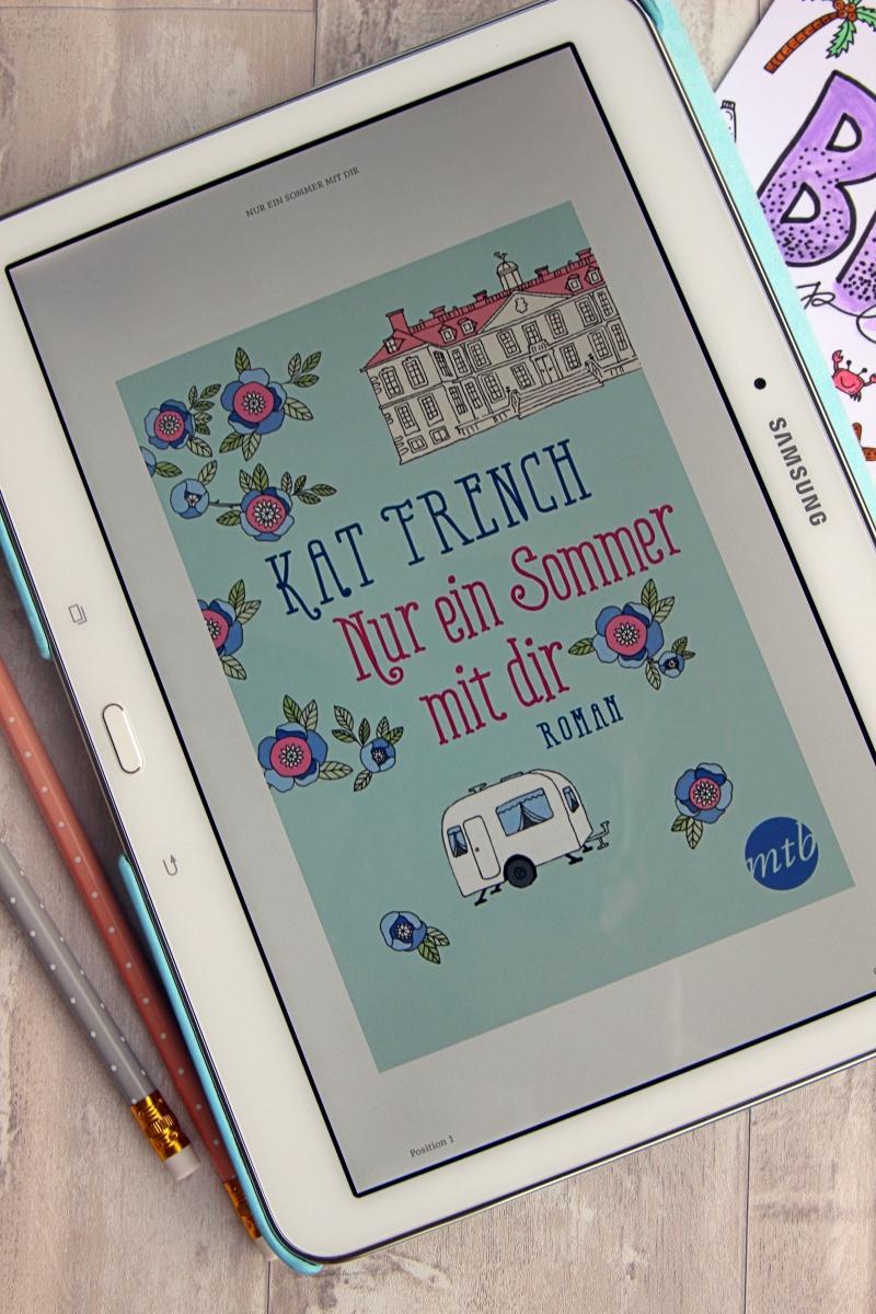"""""""Nur ein Sommer mit dir"""" von Kat French"""