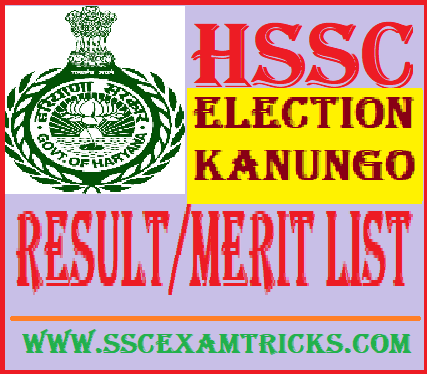 HSSC Election Kanungo Result