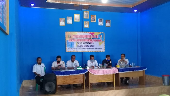 Kecamatan Batu Putih Adakan Permusyawaratan Di Aula Tiyuh Marga Sari Anggaran Tahun 2021.