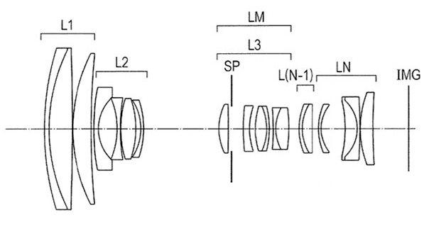 Оптическая схема объектива 16-130mm f/3.5-6.3