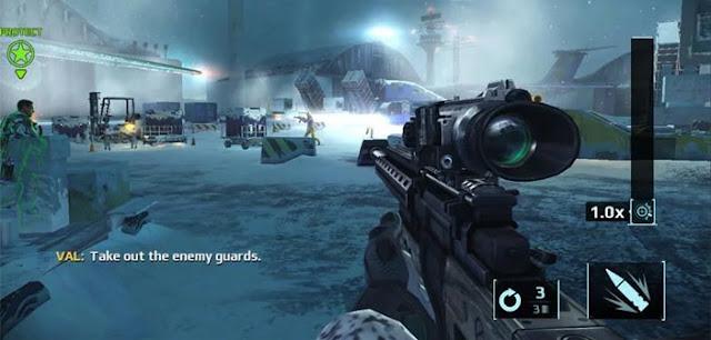لعبة Sniper Fury : Shooting Game