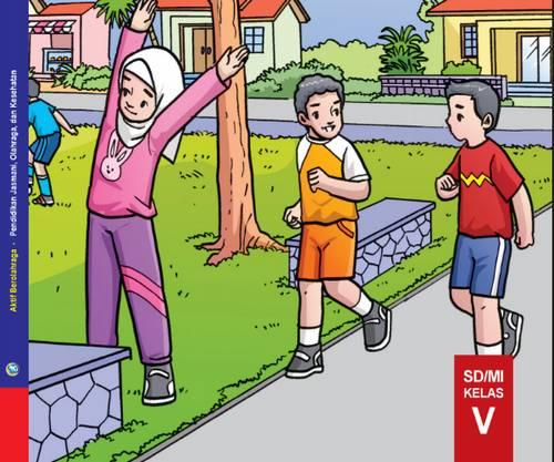 Buku Siswa PJOK Kelas 5 Kurikulum 2013 Revisi 2018