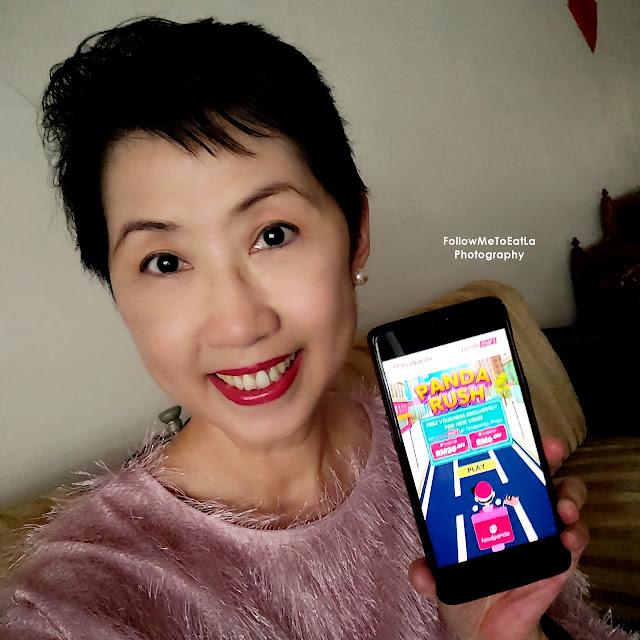 """foodpanda """"PANDA RUSH"""" Campaign  Offer FREE VOUCHERS At pandamart & foodpanda shops"""