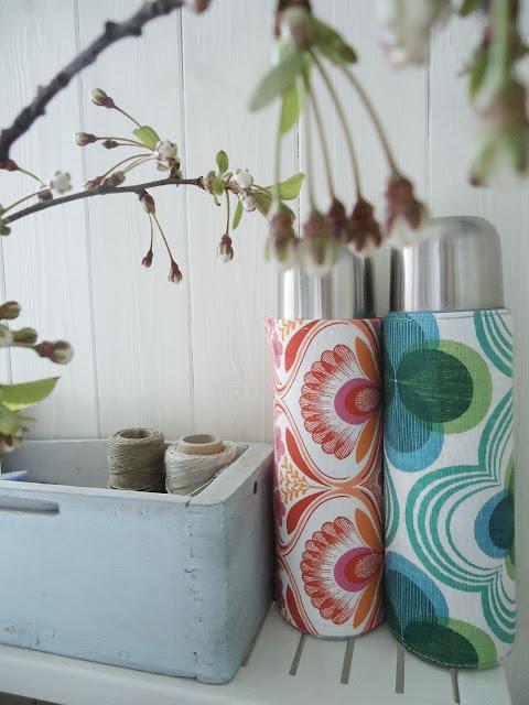 kolorowy termos DIY