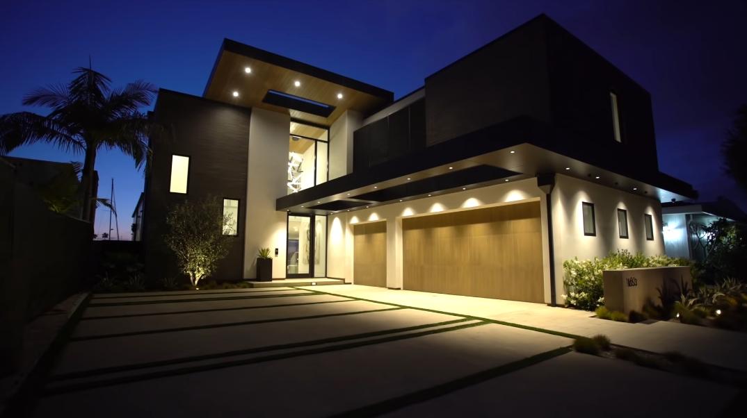 63 Interior Photos vs. Tour 1653 Bayside Dr, Corona Del Mar, CA Ultra Luxury Contemporary House