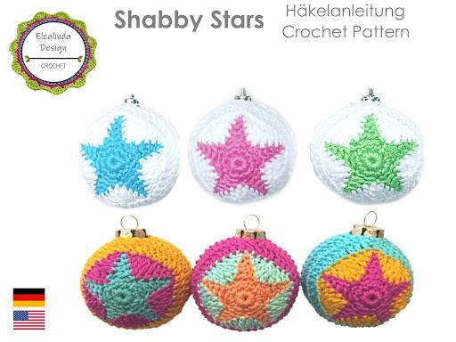 Ebook Christbaumkugeln Shabby Stars