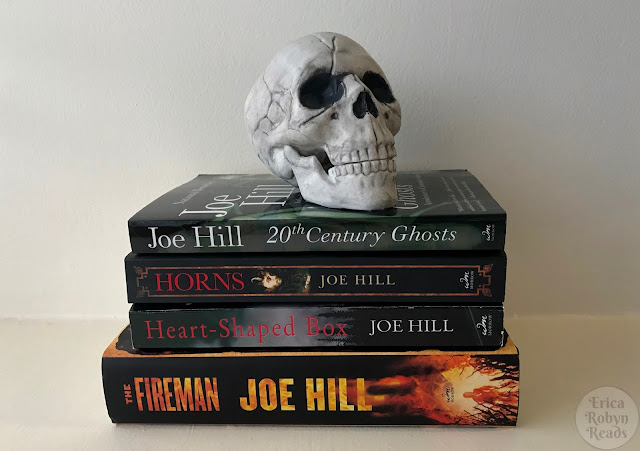 My Joe Hill book collection