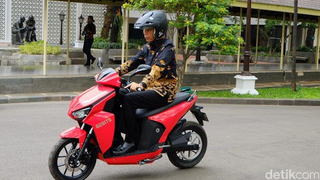Pemenang Lelang Motor Gesits Jokowi Senilai Rp 2,5 Miliar  Ditangkap Polisi