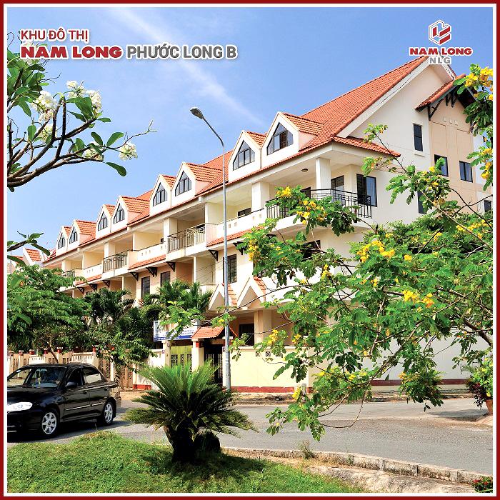 Nhà phố khu đô thị Nam Long Phước Long B
