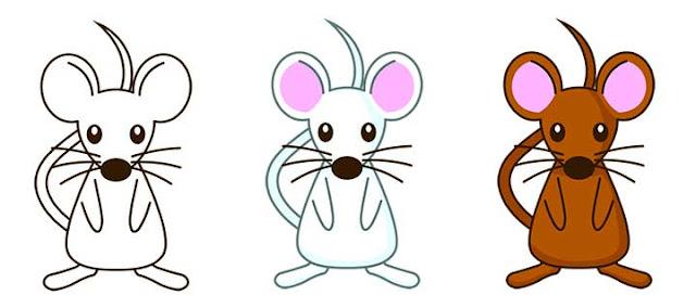ネズミカラーバリエーション