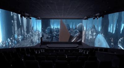 NOS Cinemas Estreará Nova Sala de Cinema 270º no NorteShopping