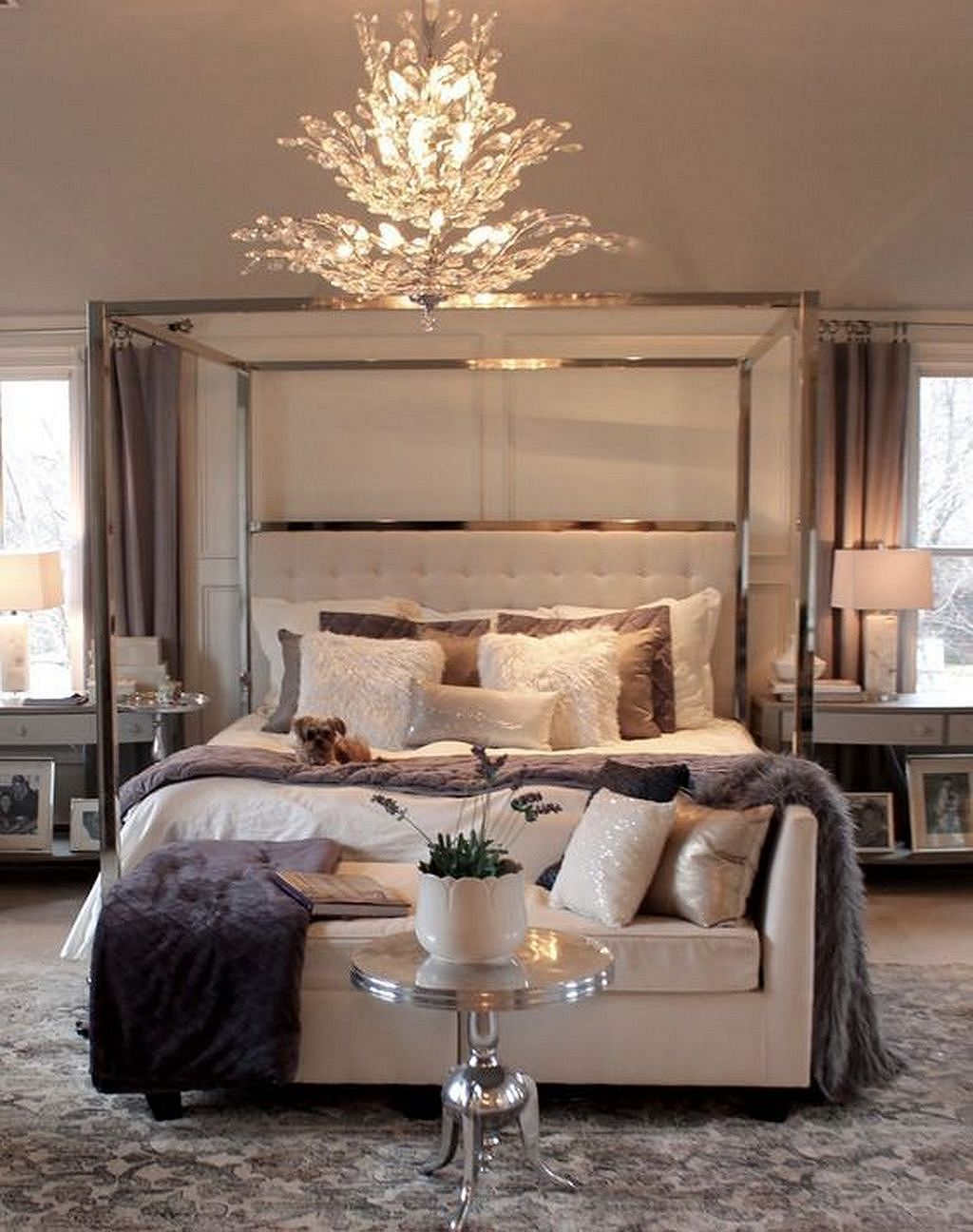 20 Elegant Small Master Bedroom Ideas Decorating - images ...
