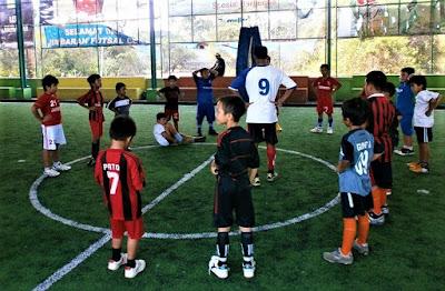 Ukuran Lapangan Futsal Mini anak sd