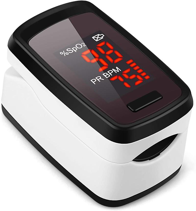 60% off  Finger Pulse Oximeter - Blood Oxygen Saturation Monitor (FBM)