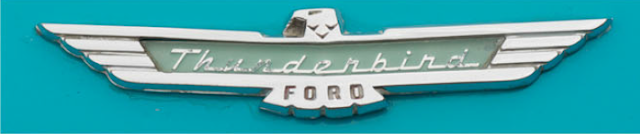 Ford Thunderbird LOGO, classic cars