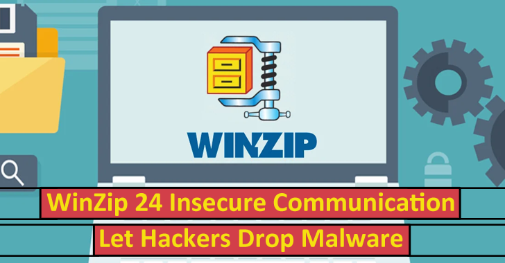 WinZip 24 Insecure Communication