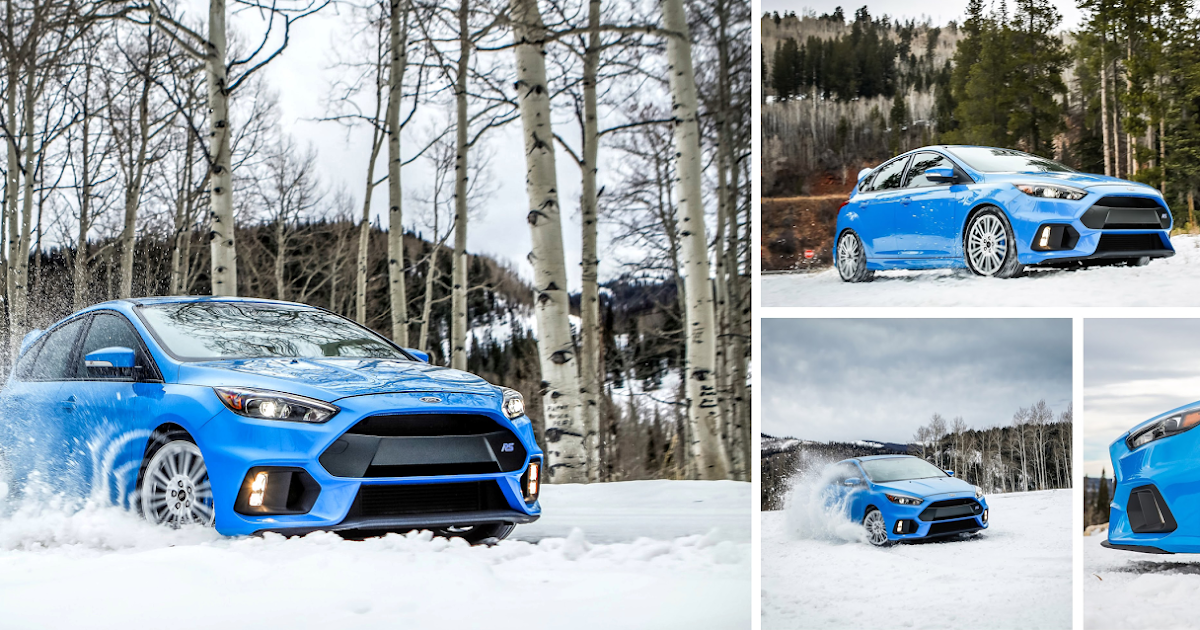 ford europe the ford focus rs in the snow. Black Bedroom Furniture Sets. Home Design Ideas