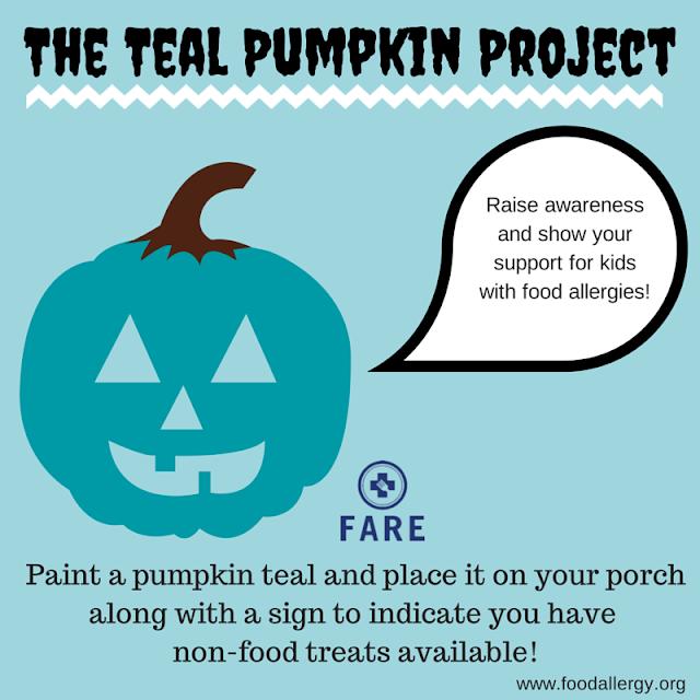http://www.foodallergy.org/teal-pumpkin-project?gclid=CjwKEAjwh8exBRDyyqqH9pvf1ncSJAAu4OE3B1vbePh2voWfzcLwJ1p_3urJl-xfC48Rqk3HZOfVJBoCl1bw_wcB#.VjIJxJNvCU0